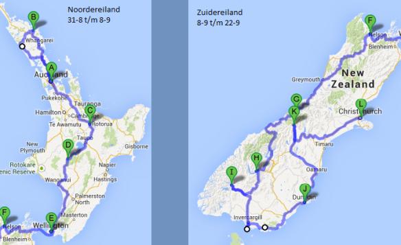 Kaartje Route